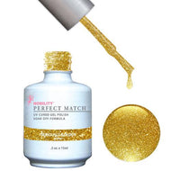 LeChat Perfect Match Gel / Lacquer Combo - Seriously Golden 0.5 oz - #PMS56, Gel Polish - LeChat, Sleek Nail