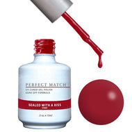 LeChat Perfect Match Gel / Lacquer Combo - Sealed With A Kiss 0.5 oz - #PMS91, Gel Polish - LeChat, Sleek Nail