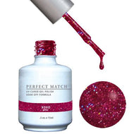 LeChat Perfect Match Gel / Lacquer Combo - Xoxo 0.5 oz - #PMS93, Gel Polish - LeChat, Sleek Nail