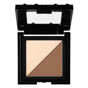 NYX Cosmetics NYX Cheek Contour Duo Palette - Double Date - #CHCD02 - Sleek Nail