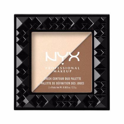 NYX - Cheek Contour Duo Palette - Double Date - CHCD02