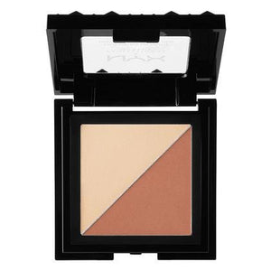 NYX Cosmetics NYX Cheek Contour Duo Palette - Perfect Match - #CHCD03 - Sleek Nail
