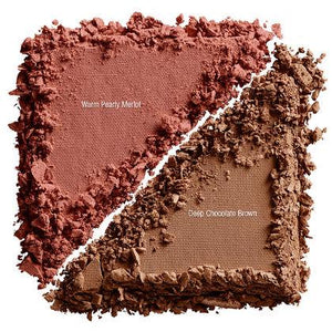 NYX Cosmetics NYX Cheek Contour Duo Palette - Wine & Dine - #CHCD04 - Sleek Nail