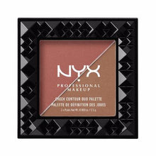 NYX - Cheek Contour Duo Palette - Wine & Dine - CHCD04