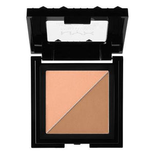 NYX Cosmetics NYX Cheek Contour Duo Palette - Two To Tango - #CHCD05 - Sleek Nail