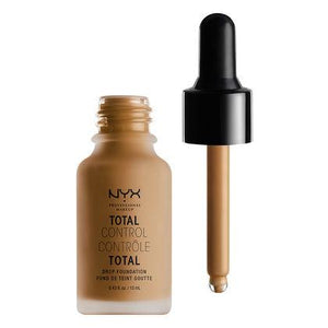 NYX Cosmetics NYX Total Control Drop Foundation - Mahogany - #TCDF16 - Sleek Nail