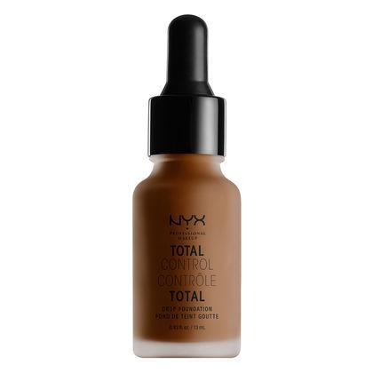 NYX Cosmetics NYX Total Control Drop Foundation - Chestnut - #TCDF23 - Sleek Nail