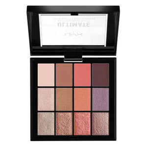 NYX Cosmetics NYX Ultimate Multi-Finish Shadow Palette - Sugar High - #USP06 - Sleek Nail
