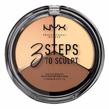 NYX - 3 Steps Face Sculpting Palette - Light - 3STS02