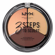 NYX - 3 Steps Face Sculpting Palette - Medium - 3STS03