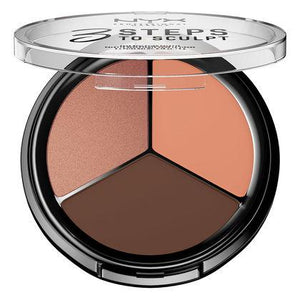 NYX Cosmetics NYX 3 Steps Face Sculpting Palette - Deep - #3STS04 - Sleek Nail