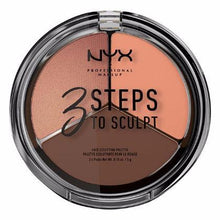 NYX - 3 Steps Face Sculpting Palette - Deep - 3STS04