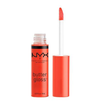 NYX Cosmetics NYX Butter Gloss - Peach Cobbler - #BLG06 - Sleek Nail