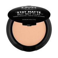 NYX Cosmetics NYX Stay Matte But Not Flat Powder Foundation - Warm - #SMP17 - Sleek Nail