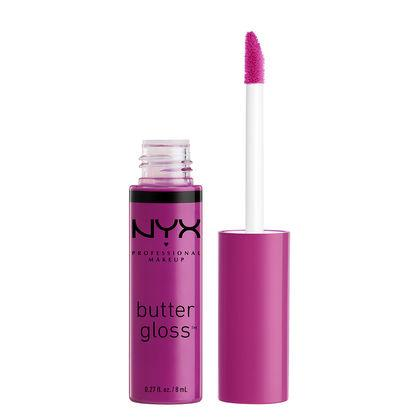 NYX Cosmetics NYX Butter Gloss - Raspberry Tart - #BLG21 - Sleek Nail