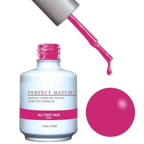 LeChat LeChat Perfect Match Gel / Lacquer Combo - All That Sass 0.5 oz - #PMS179 - Sleek Nail