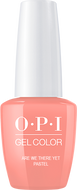 OPI OPI GelColor - Are We There Yet? (Pastel) 0.5 oz - #GC105 - Sleek Nail