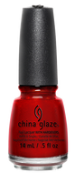 China Glaze China Glaze - Go Crazy Red 0.5 oz - #70259 - Sleek Nail