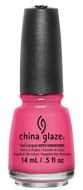 China Glaze China Glaze - Shocking Pink 0.5 oz - #70293 - Sleek Nail