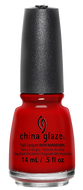 China Glaze China Glaze - Scarlet 0.5 oz - #70309 - Sleek Nail