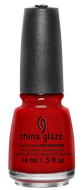China Glaze China Glaze - Italian Red 0.5 oz - #70357 - Sleek Nail