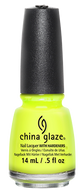 China Glaze China Glaze - Yellow Polka Dot Bikini 0.5 oz - #80948 - Sleek Nail