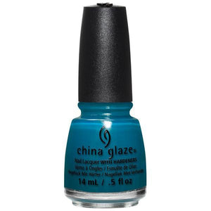 China Glaze - Jagged Little Teal 0.5 oz #83611