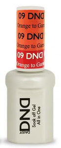 DND - Mood Change Gel - Orange to Garnet 0.5 oz - #D09