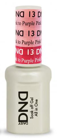 DND - Mood Change Gel - Pretty Pink to Purple Pink 0.5 oz - #D13