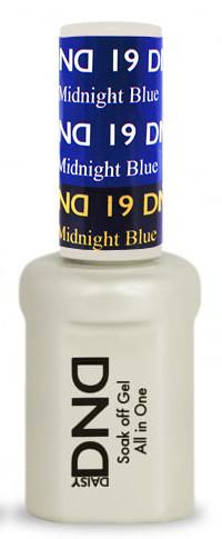 DND - Mood Change Gel - Light to Midnight Blue 0.5 oz - #D19