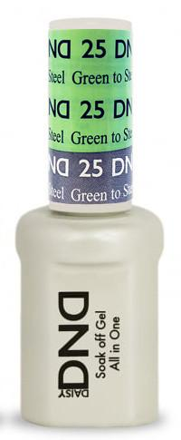 DND - Mood Change Gel - Green to Steel 0.5 oz - #D25