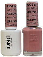 DND - Daisy Nail Design DND - Gel & Lacquer - Velvet Cream - #595 - Sleek Nail