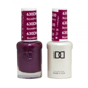 DND - Daisy Nail Design DND - Gel & Lacquer - Boysenberry - #630 - Sleek Nail