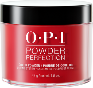 OPI Dipping Powder Perfection - Big Apple Red 1.5 oz - #DPN25