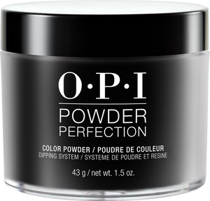 OPI Dipping Powder Perfection - Black Onyx 1.5 oz - #DPT02