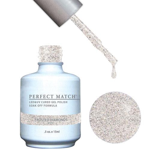 LeChat LeChat Perfect Match Gel / Lacquer Combo - Frosted Diamonds 0.5 oz - #PMS163 - Sleek Nail