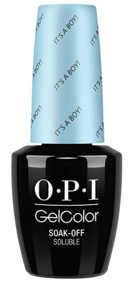 OPI OPI GelColor-  It's A Boy! 0.5 oz - #GCT75 (Original Bottle Design) - Sleek Nail