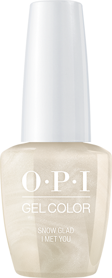 OPI GelColor - Snow Glad I Met You 0.5 oz - #GCHRJ01