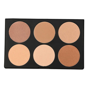 Kara Beauty - Glow Dust Palette - 6 Colors - HL06