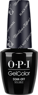 OPI GelColor - Black Dress Not Optional 0.5 oz - #HPH03, Gel Polish - OPI, Sleek Nail