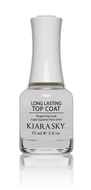 Kiara Sky - Long Lasting Top Coat 0.5 oz - #NLTOP, Nail Lacquer - Kiara Sky, Sleek Nail