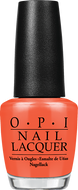 OPI OPI Nail Lacquer - Atomic Orange 0.5 oz - #NLB39 - Sleek Nail