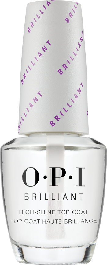 OPI OPI Nail Lacquer - Brilliant Top Coat 0.5 oz - #NTT37 - Sleek Nail