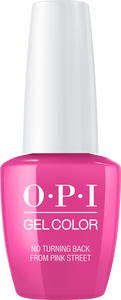 OPI OPI GelColor - No Turning Back From Pink Street 0.5 oz - #GCL19 - Sleek Nail