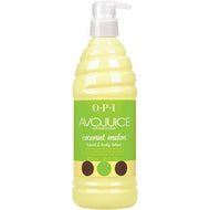 OPI Avojuice - Coconut Melon Lotion 20 oz / 600 Ml, Lotion - OPI, Sleek Nail