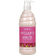 OPI Avojuice - Ginger Lily Lotion 20 oz / 600 Ml, Lotion - OPI, Sleek Nail