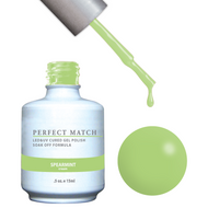 LeChat Perfect Match Gel / Lacquer Combo - Spearmint 0.5 oz - #PMS120, Gel Polish - LeChat, Sleek Nail