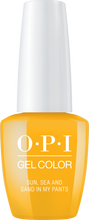 OPI OPI GelColor - Sun, Sea, and Sand in My Pants 0.5 oz - #GCL23 - Sleek Nail