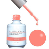 LeChat LeChat Perfect Match Gel / Lacquer Combo - Sunkissed 0.5 oz - #PMS152 - Sleek Nail