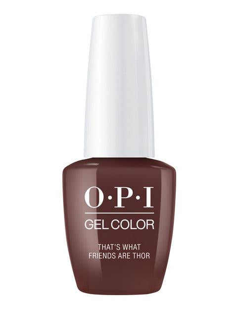 OPI OPI GelColor - That's What Friends Are Thor 0.5 oz - #GCI54 - Sleek Nail